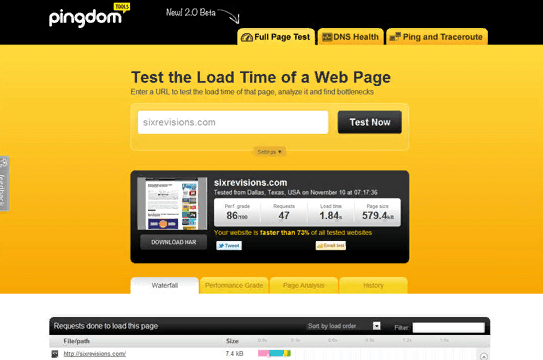 Thiết kế web load nhanh