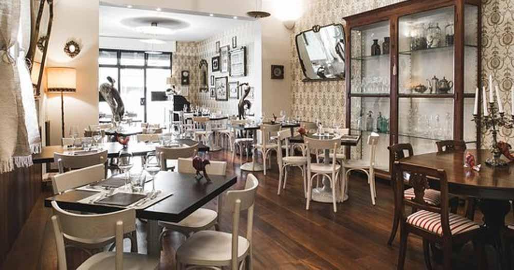 trang trí nhà hàng Tạo ra từng không gian riêng biệt