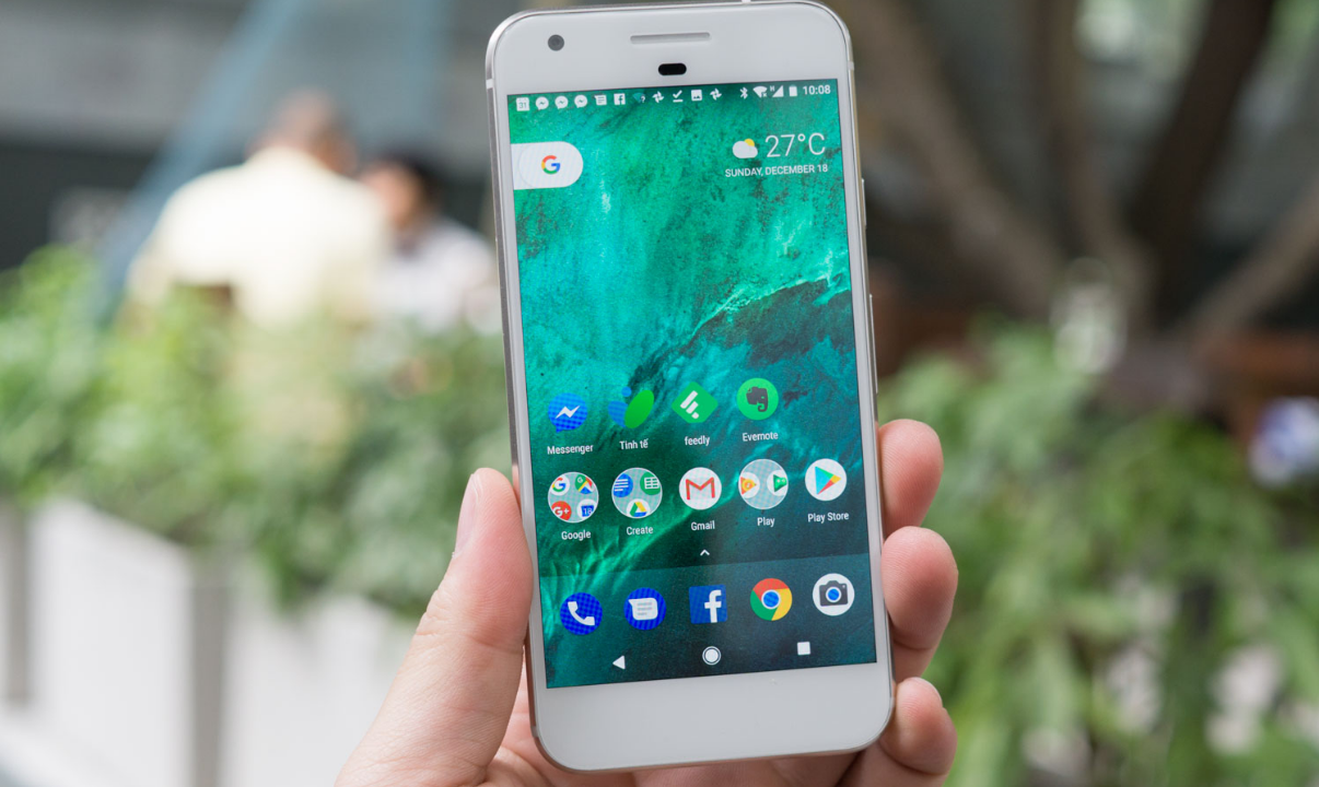giao diện Android