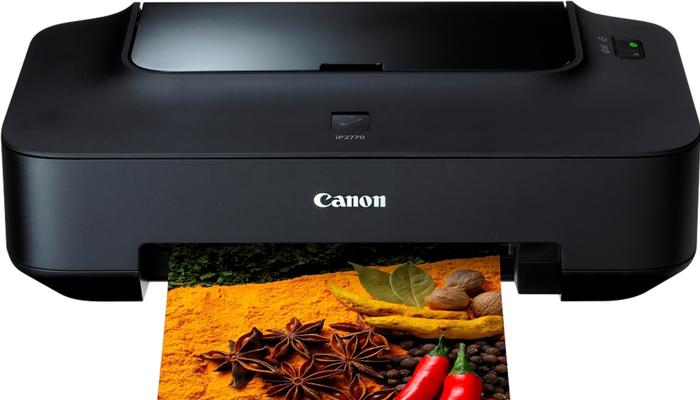 Máy in màu A4 giá rẻ - Canon Pixma IP2770